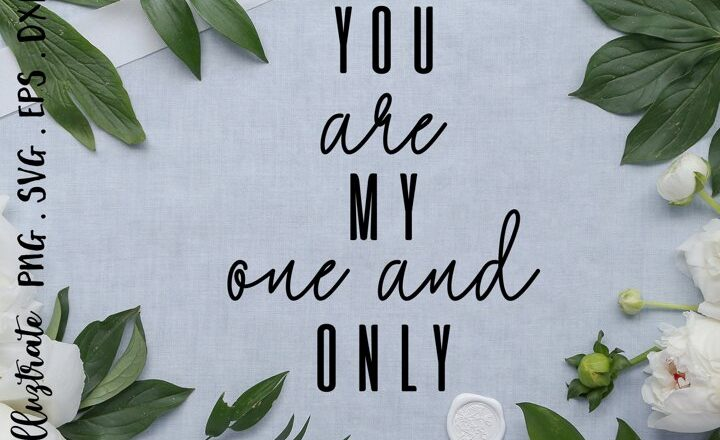 Free You are my one and only SVG Cut File