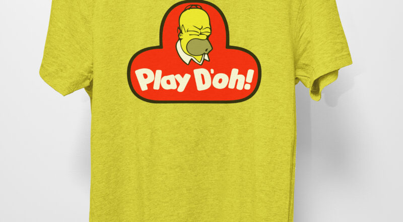 Free Play D'oh SVG File