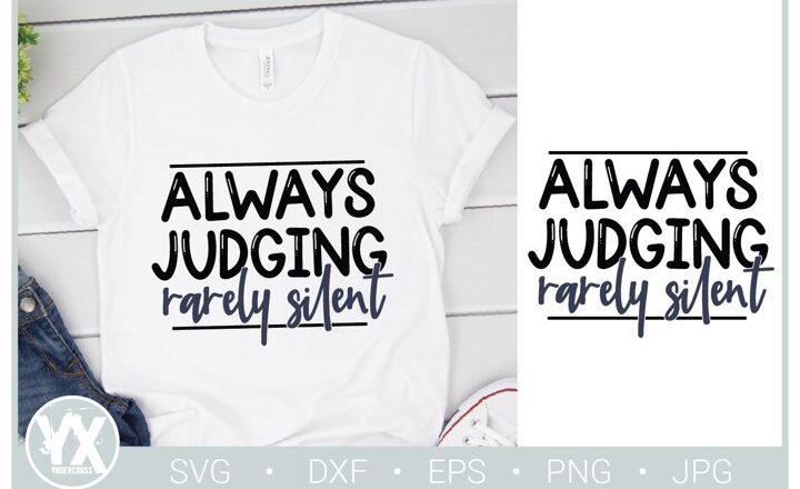 Free Always Judging SVG File
