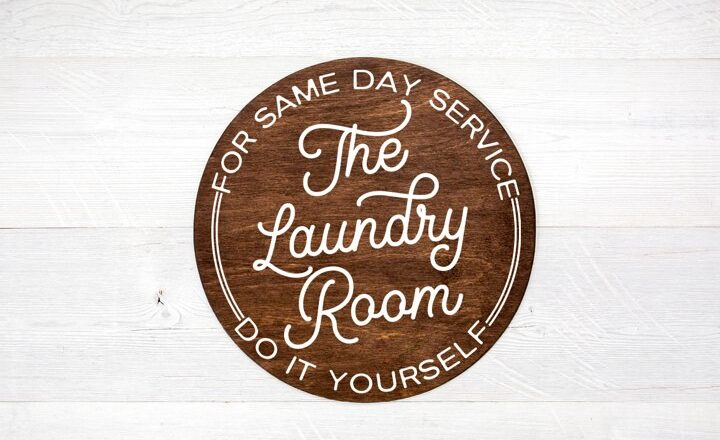 Free Laundry Room SVG File