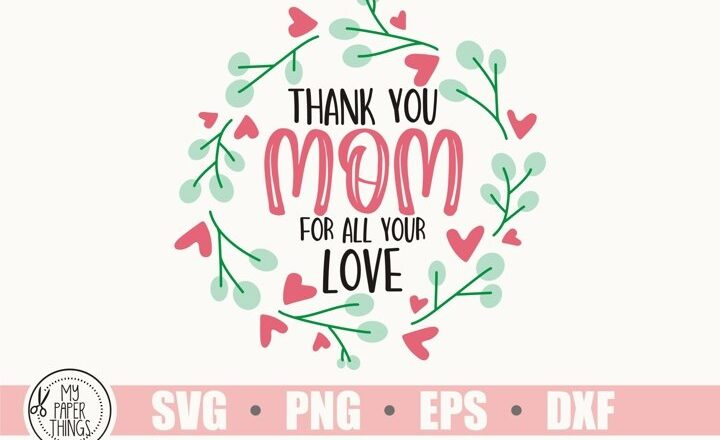Free Mothers Day SVG File