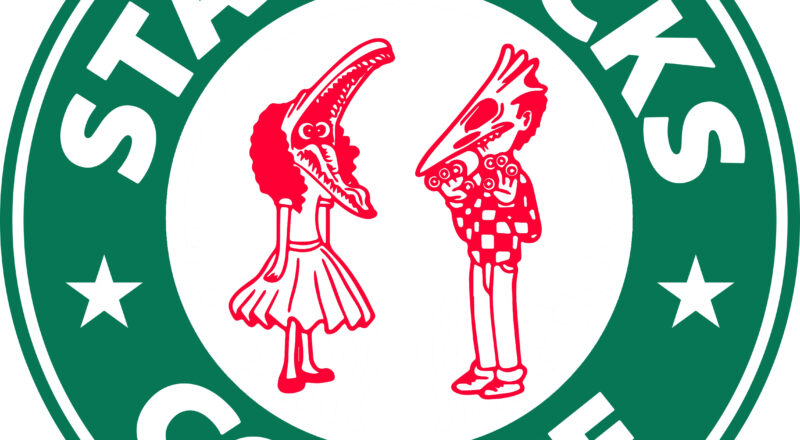 Free Starbucks Beetlejuice Logo SVG