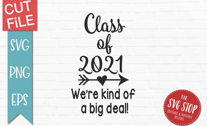 Free Class of 2021 SVG File
