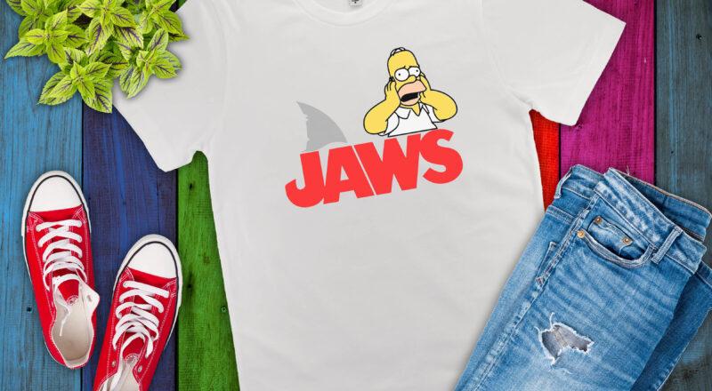 Free Homer JAWS SVG File