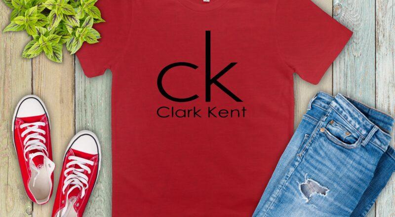 Free Clark Kent CK SVG File