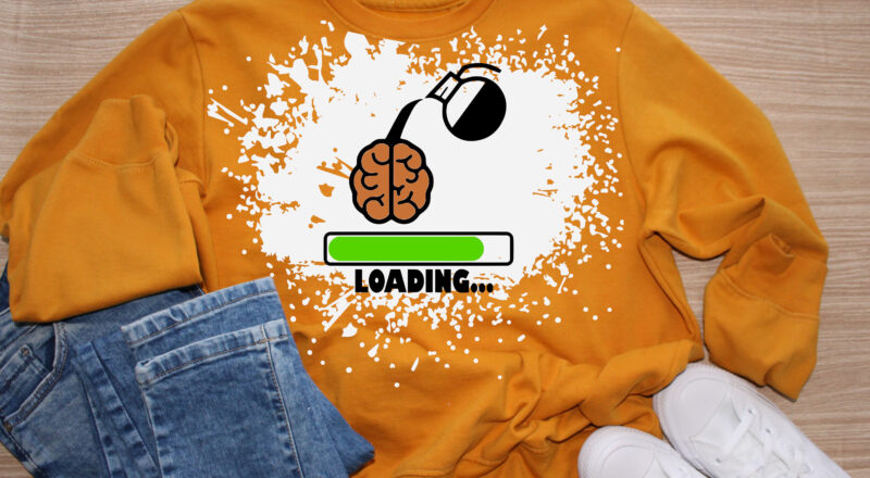 Free Brain Loading Add More Coffee SVG Cutting File for the Cricut.